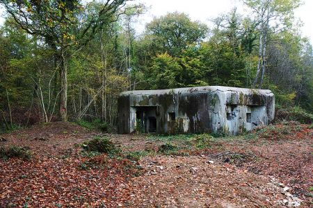 Casemate A33 Fort Jean-Diot
