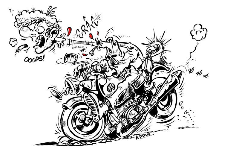 circulation dans les rond-points - Page 2 Moto-freinage